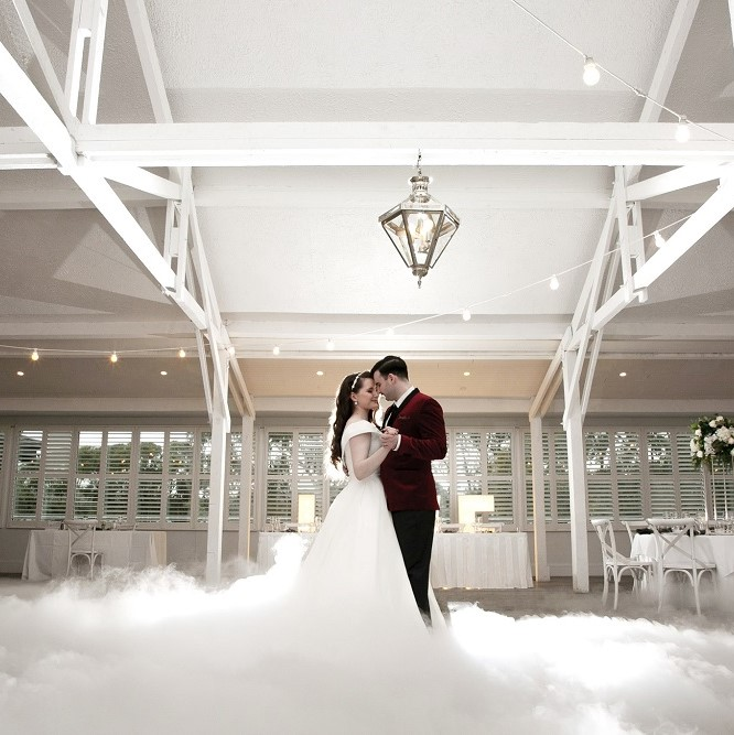Wedding DJ Yarra Valley Dry Ice