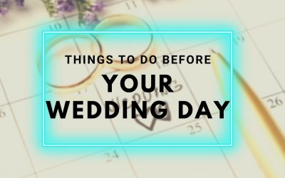 Wedding DJ Yarra Valley Tips: Things To Do Before Your Wedding Day