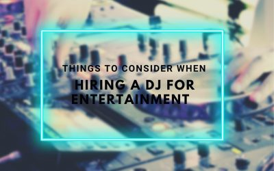 Hire DJ Yarra Valley: Things to consider when hiring a DJ for Entertainment